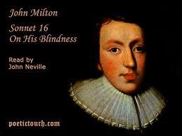 On His Blindness (Soneto 16) - capa de DVD