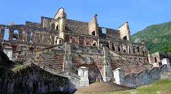 The Sans -Souci Palace in Haïti