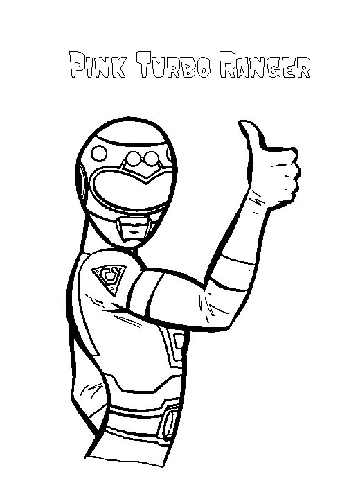 power ranger coloring pages printable - photo#28