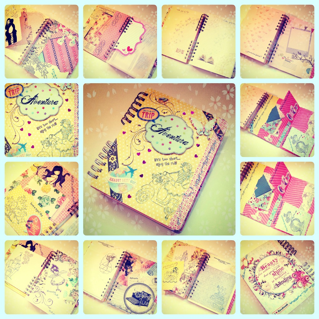 Fairy ulzzang decora tus cuadernos - Como decorar cuadernos ...