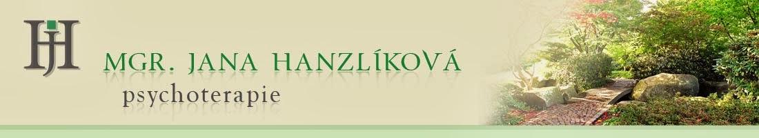 Mgr. Jana Hanzlíková Psychoterapie