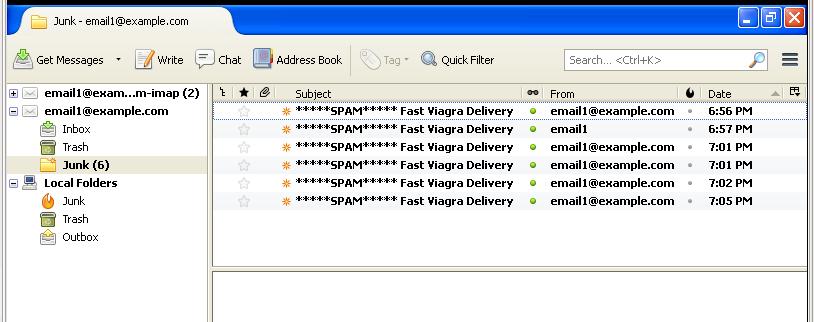 Postfix viagra spam