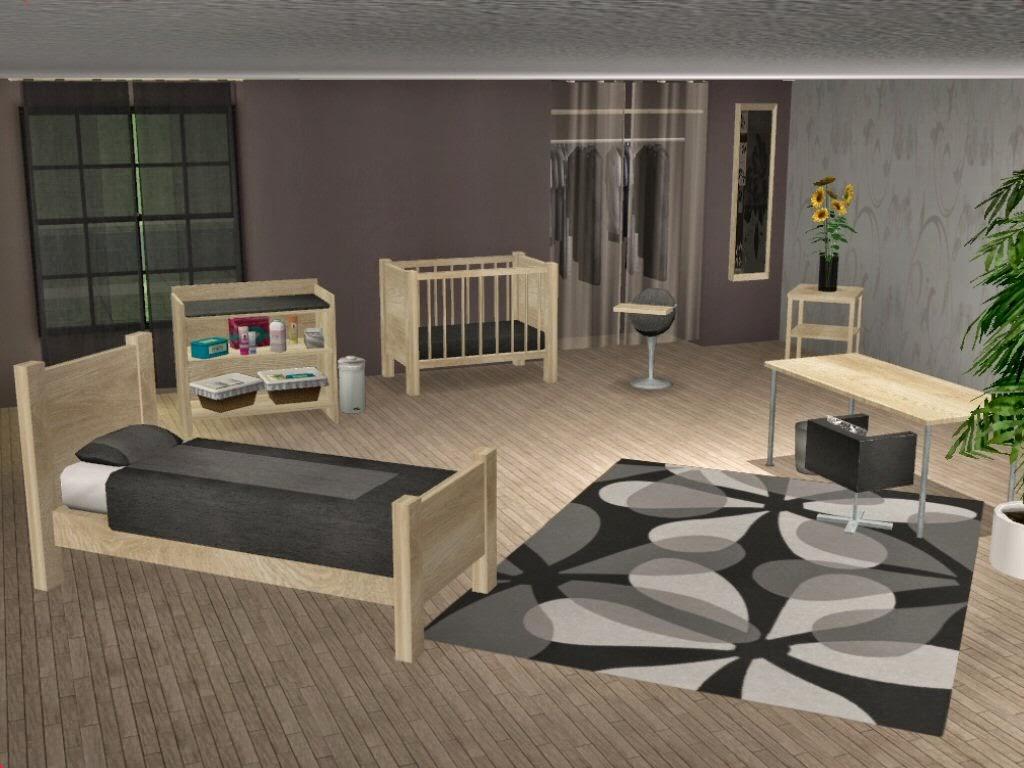 Simplified sims 2 loco series kinderzimmer - Sims 3 babyzimmer ...