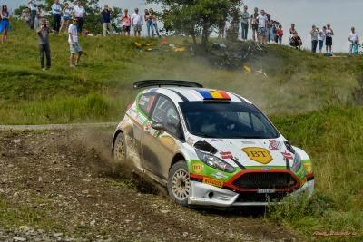 Marco Tempestini si Toni Avram - Ford Fiesta R5 - Raliul Moldovei
