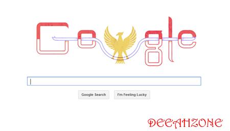Google Doodle Merayakan HUT RI Ke 68