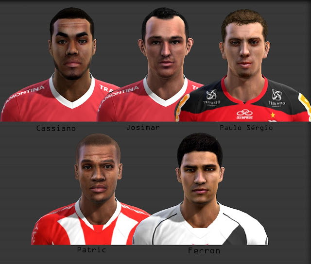 MINI FACEPACK BRASILEIRO V1 - PES 2013
