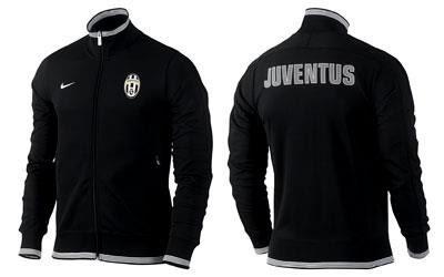 Jaket Juventus Black White