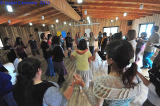 Primer Encuentro de Danzas Circulares del Sur
