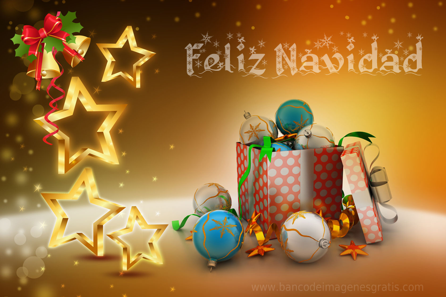 tarjetas navideas con mensaje de feliz navidad en espaol ingls y francs
