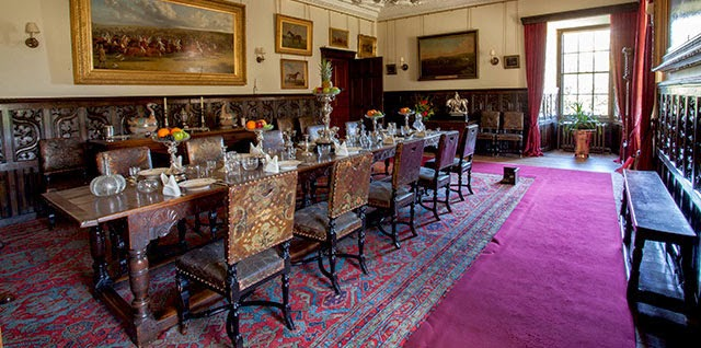 Dining room of Brodick Castle