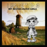 "TOP-3 My Besties Dutchgirls Designs op 18-09 2017 (#21) ""Zo Schattig"""
