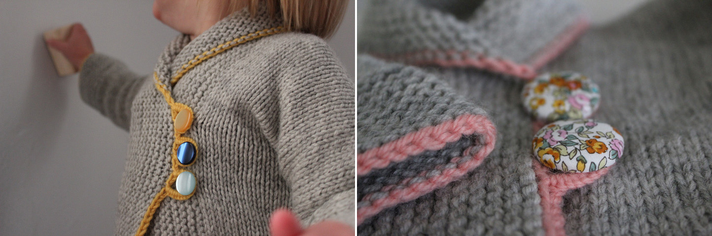 SweetKM: Knit Button Loop Video