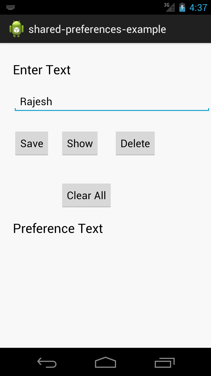 How to Save Variables in SharedPreferences - Android ...