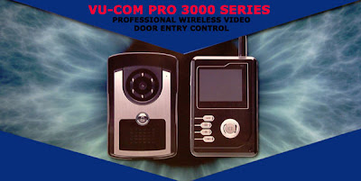 The Vu-Com Pro 3000 Series Professional Wireless Video Door Entry Control
