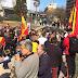 Fracaso de la manifestación 'Anti-Podemos' que reunió a algo más de 100 personas.