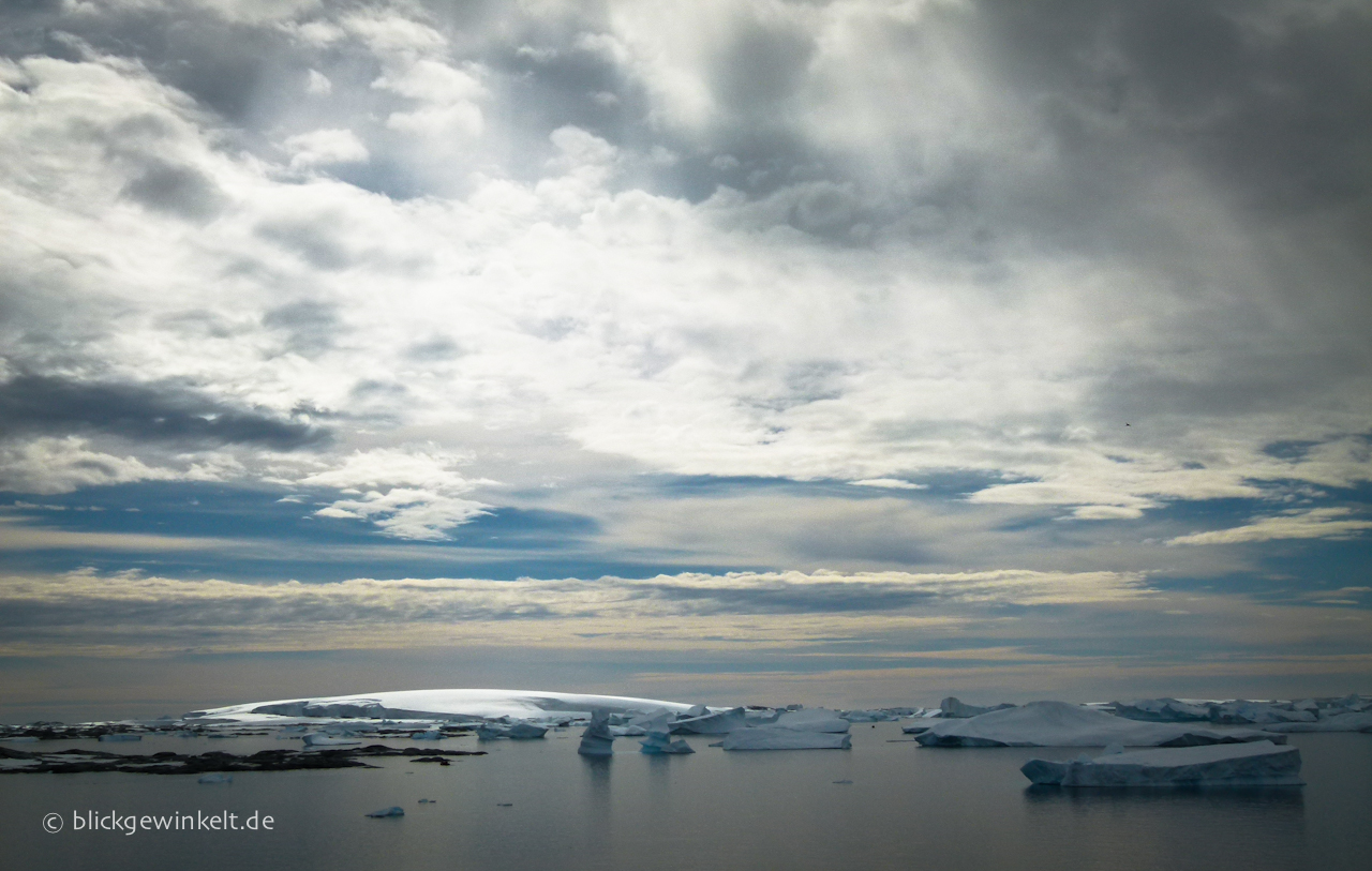 Antarktis Eislandschaft