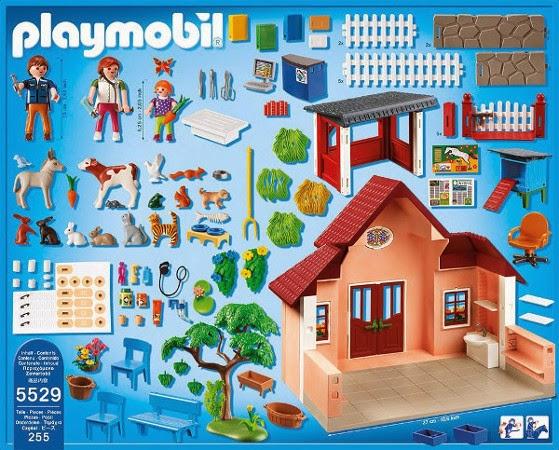 Libros y juguetes 1demagiaxfa juguetes playmobil city life 5529 cl nica veterinaria - Playmobil piscina ballena ...