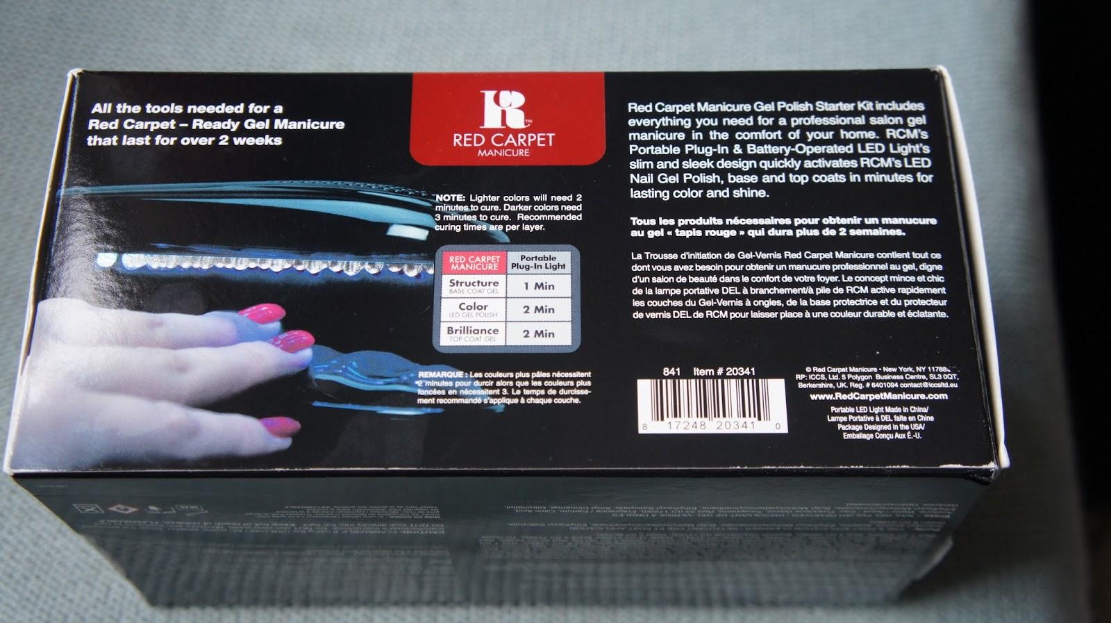 Red Carpet Manicure Kit Debenhams- HireAbility