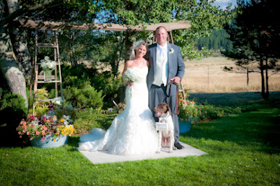 Wedding dog photo