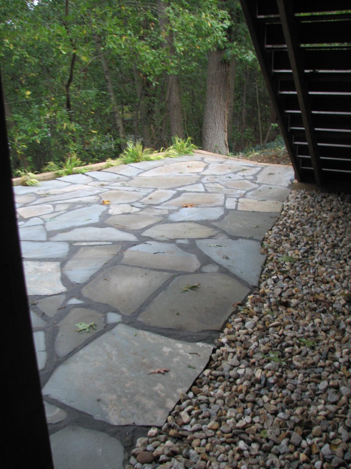 Blue Stone Floor