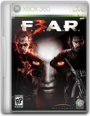 Capa F.E.A.R. 3   XBOX 360 (Region Free)