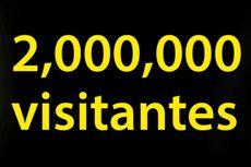 SON MÁS DE 2 MILLONES DE VISITAS
