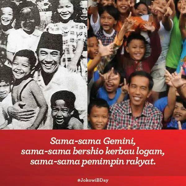 Bung Karno dan Jokowi
