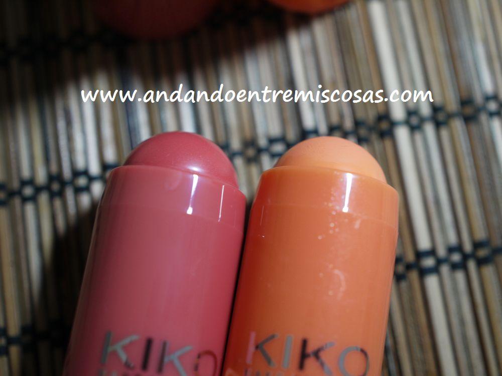 Coloretes en crema de Kiko
