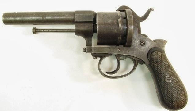 Belgium Pin Fire Revolver
