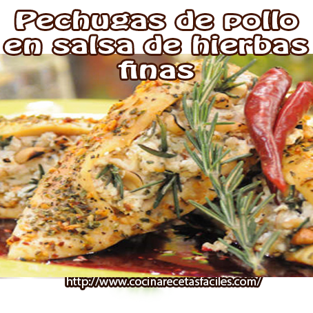 Recetas de pollo , recetas fáciles , pollo , hierbas finas