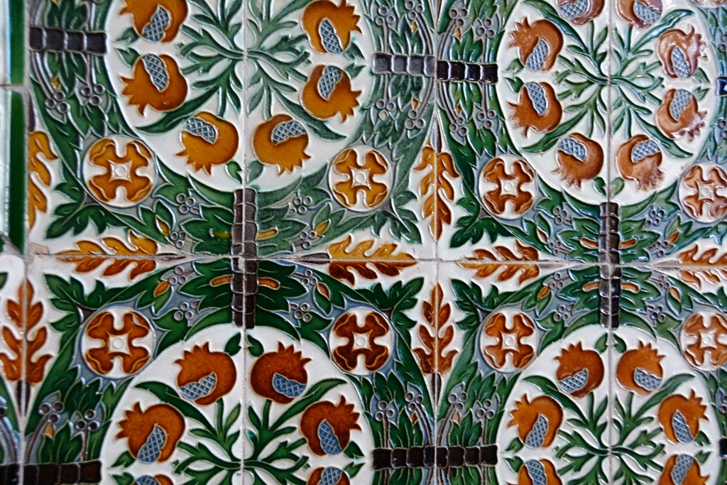 Cibeles Palace Madrid Tiles