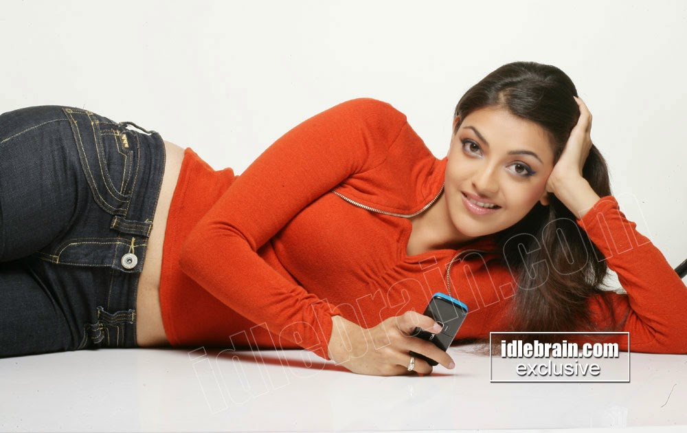 Kajal agarwal tummy hot