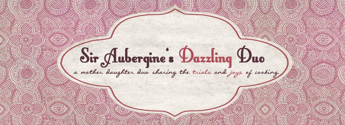 Sir Aubergine's Dazzling Duo