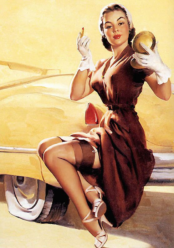 pin up girl pictures gil elvgren 1950 39 s pin up girls. Black Bedroom Furniture Sets. Home Design Ideas