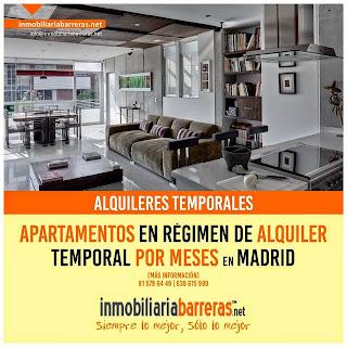 Alquilar apartamentos temporarios Madrid España Spain en Nosolopisos.es/alquiler temporal