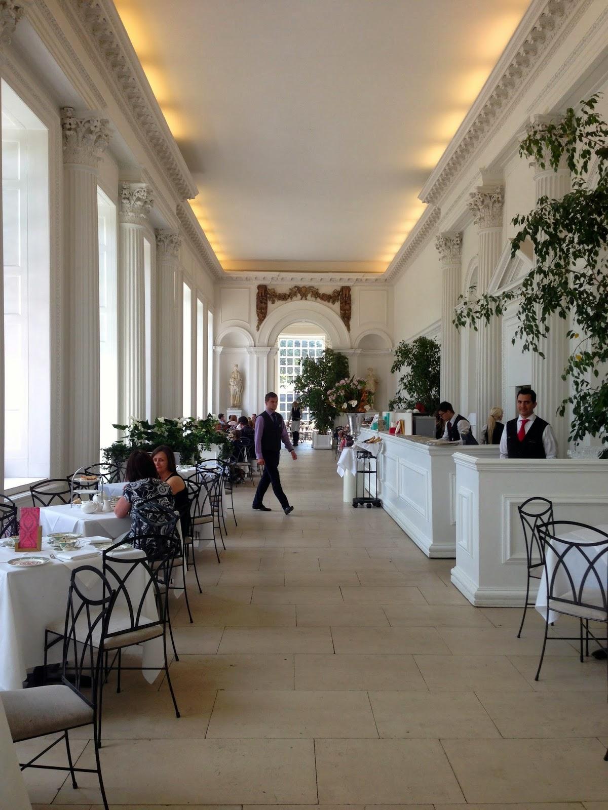 Belvoir Castle Tea Room Menu