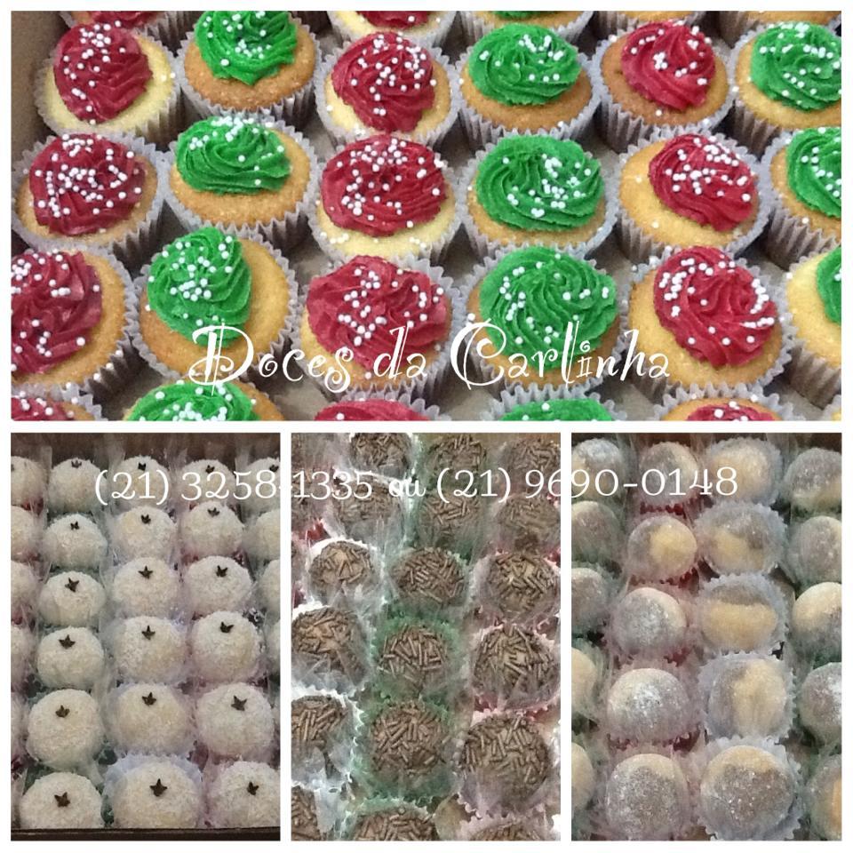 Doces da Carlinha  Mini Cupcakes e Docinhos Simples Fluminense - Rafael db6831aa488a4