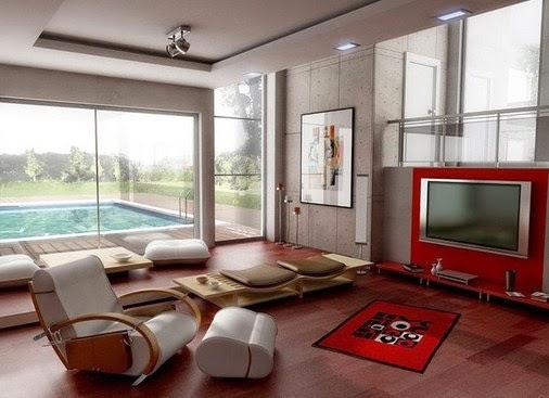 ide desain interior rumah modern