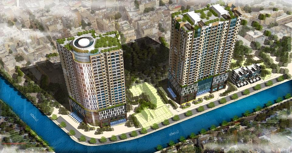 Phối cảnh tổng quan dự án chung cư Dream Home