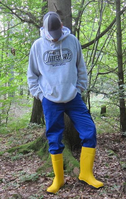Dunlop Boots Yellow3