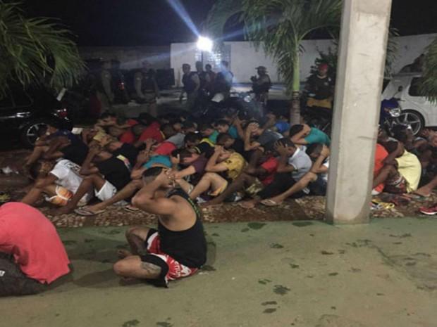 Todos os suspeitos foram ouvidos na Delegacia de Brumado (Foto: Divulgação / Polícia Militar)