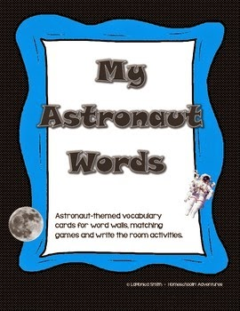 http://www.teacherspayteachers.com/Product/Astronaut-Words-Space-themed-Word-Wall-and-Write-the-Room-activity-1415810