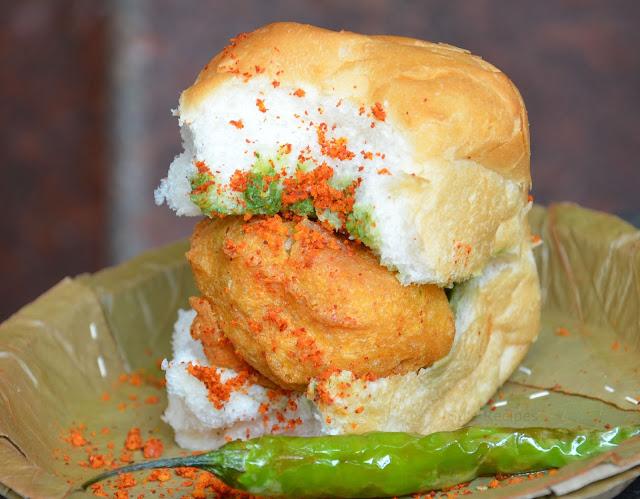 vada pav, mumbai street food, chaats, street food, aloo bonda, chatpata, mumbai famous food