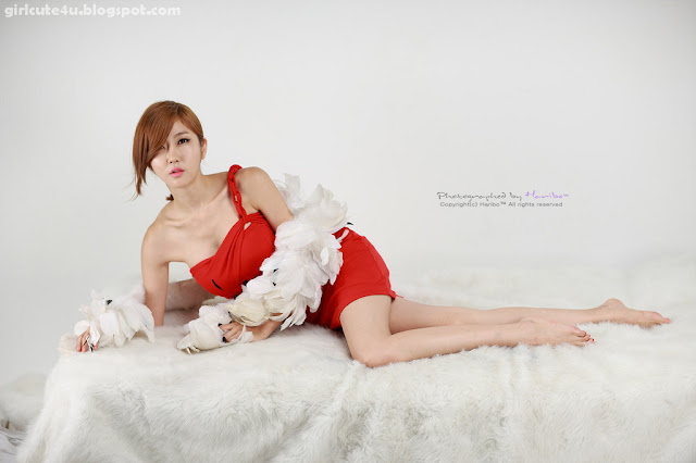 3 Choi Byeol Yee-Hot Red-very cute asian girl-girlcute4u.blogspot.com