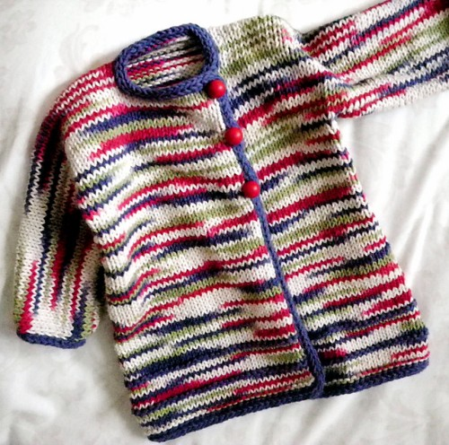 Side Wrap Sweater - Free Pattern