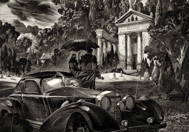 Thomas and Martha Wayne by Nicolas Delort & Geek Art & French Paper Art Club