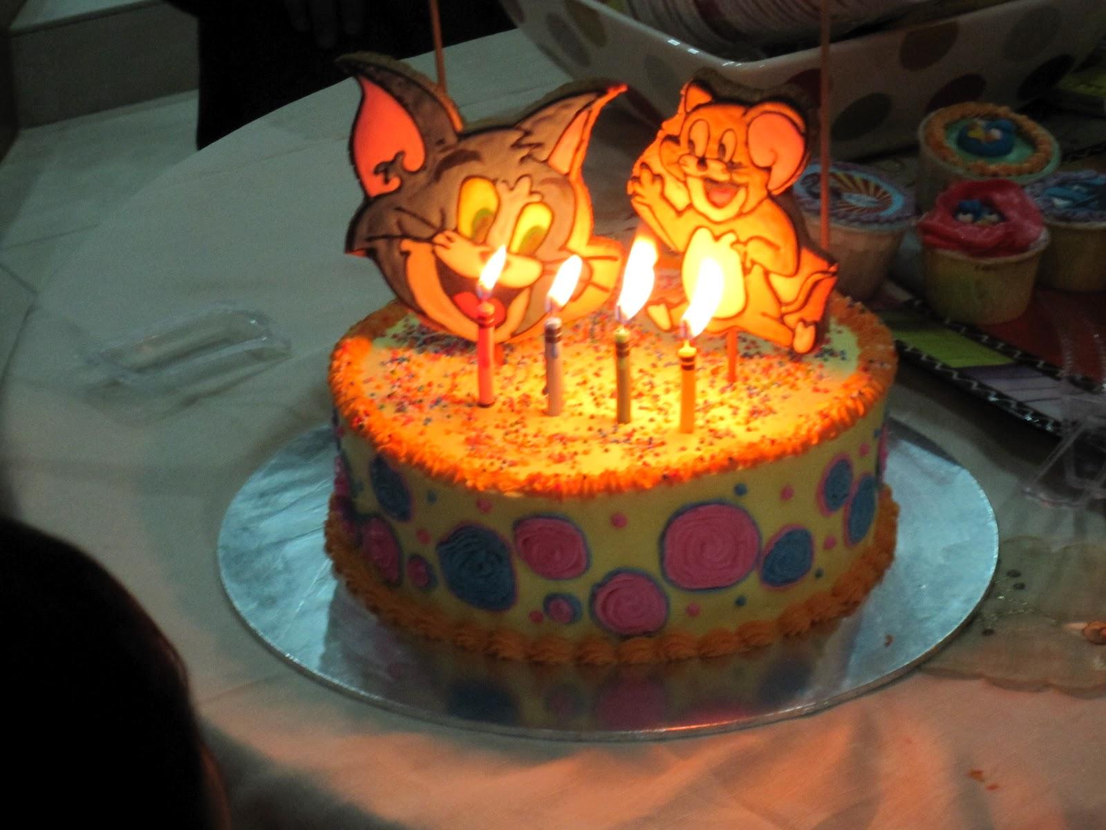 Cake2U Double celebrations part 1Tom N Jerry
