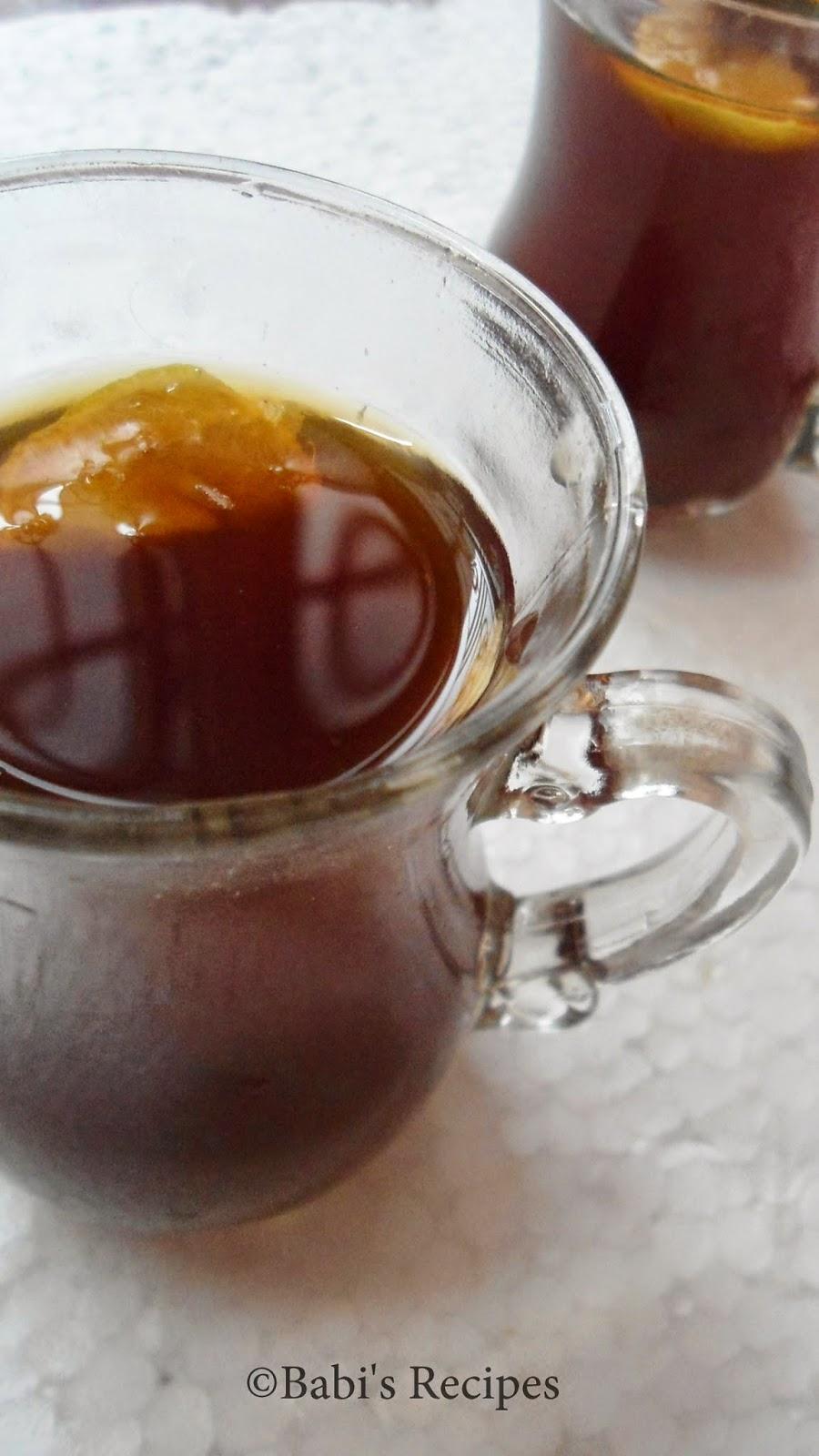 Gulkand Iced tea
