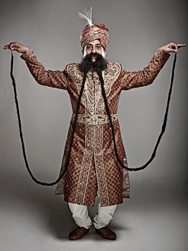 Ram Singh Chauhan moustache
