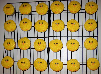 Easter Chick Cupcakes 3